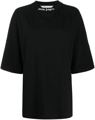 Palm Angels rear logo print T-shirt