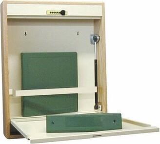 Symple Stuff Berkowitz Floating Desk Finish: Oak Frame