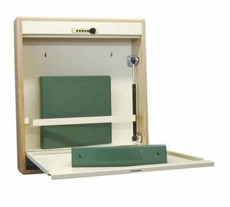 Symple Stuff Berkowitz Floating Desk Symple Stuff Finish: Oak Frame