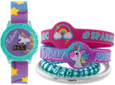 FASHION WATCHES Girls Multicolor Strap Watch-Gengt047
