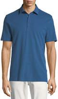 Ermenegildo Zegna Cotton/Silk Jersey Polo Shirt