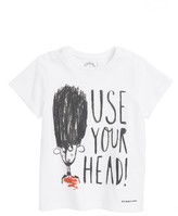 Toddler Boy's Burberry Use Your Head Graphic T-Shirt