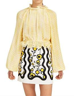 C/Meo Collective Stealing Sunshine Long Sleeve High Neck Top