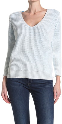 Line Solana Ribbed V-Neck Sweater