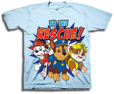 Freeze PAW Patrol Light Blue 'To the Rescue' Tee - Toddler & Boys