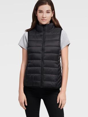 DKNY Funnel Neck Puffer Vest