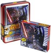 Crayola Star Wars Darth Vader Collectible Tin, 64 Count Crayons Toy
