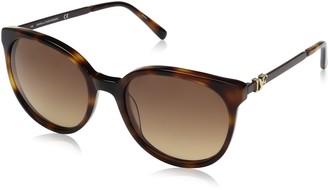 Diane von Furstenberg Women's DVF618S Marianna Round Sunglasses