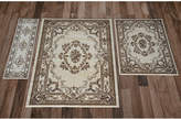 Kas Closeout! Corinthian 5311 Ivory Aubusson 3-Pc. Rug Set