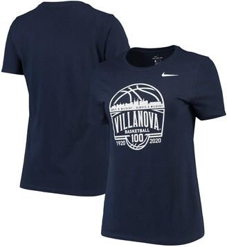 Nike Women's Navy Villanova Wildcats 100 Years of Basketball Performance T-Shirt