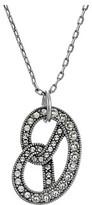 Marc Jacobs Charms Pretzel Pendant Necklace