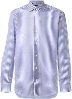 Barba striped long-sleeved shirt - men - Cotton - 39