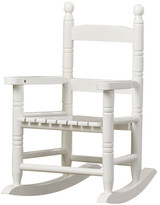Gift Mark Slat Child's Rocking Chair
