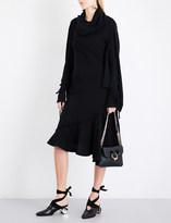 J.W.Anderson Asymmetric wool dress