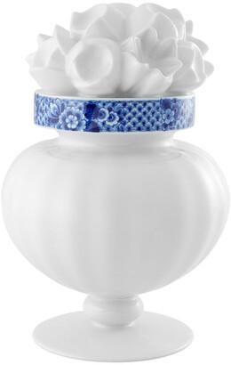 Vista Alegre Blue Ming Flower Vase (Gift Boxed)