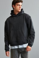 Urban Outfitters Malone Lace-Up Hoodie Sweatshirt