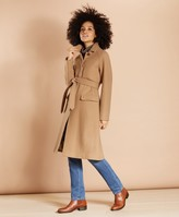 Brooks Brothers Water-Repellent Stretch-Wool Twill Trench Coat