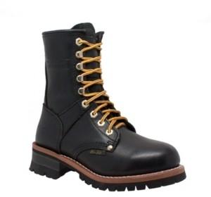"AdTec Women's 9"" Logger Logger Boot Women's Shoes"