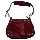 Balenciaga Burgundy Patent leather Handbag