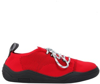 Lanvin Diving Lace-Up Sneakers