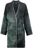 Avant Toi degradé midi coat - women - Linen/Flax - S