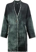 Avant Toi degradé midi coat - women - Linen/Flax - XS