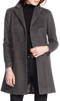 Lauren Ralph Lauren Wool Blend Long Sleeve Coat