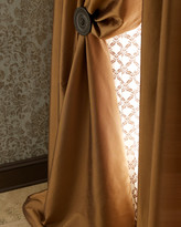 "Radiance Silk Curtain, 120""L"