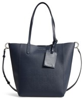 MICHAEL Michael Kors Penny Large Saffiano Convertible Leather Tote - Blue