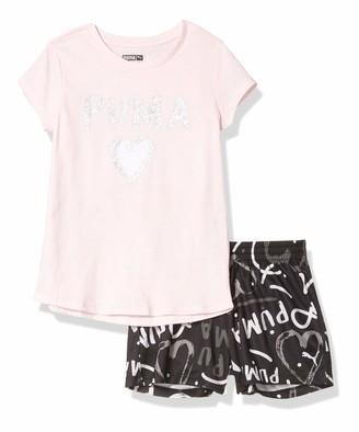 Puma Baby Girls' Tee and Short Set