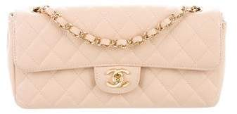 Chanel Quilted Caviar E/W Flap Bag