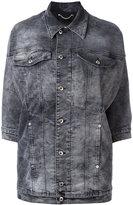 Diesel three-quarters sleeve denim jacket - women - Cotton/Polyester/Spandex/Elastane - S