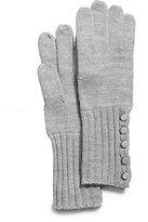 Michael Kors Button-Up Gloves