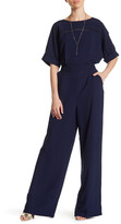 Adelyn Rae Short Sleeve Solid Jumpsuit