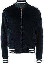 Paul Smith velvet bomber jacket