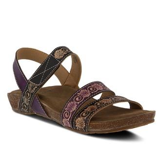 Spring Step Womens L'Artiste By Paldina Ankle Strap Sandals