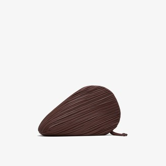 Neous brown Pluto leather clutch bag