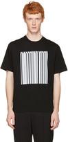 Alexander Wang Black Barcode Logo T-Shirt
