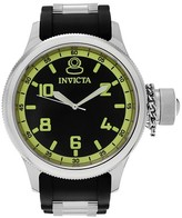 Invicta Men's 1433 Russian Diver Quartz 3 Hand Strap Watch - Black