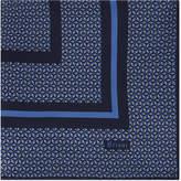 Brioni Triangle-print Silk Pocket Square