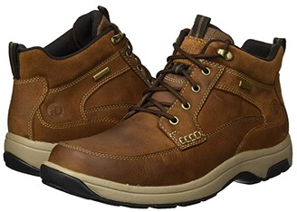 Dunham 8000 Mid Boot (Tan) Men's Lace-up Boots