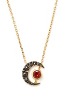 ARA VARTANIAN X Kate Moss diamond, garnet & gold necklace