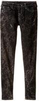 True Religion Casey Light Gray Single End Jeans in Blackout/Mineral Wash (Big Kids)