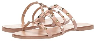 Massimo Matteo Sandal with Studs (Pelle/Verni) Women's Sandals