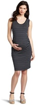 Ripe Maternity Women's Striped Tank Dress