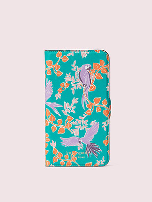 Kate Spade Bird Party Iphone 11 Magnetic Wrap Folio Case