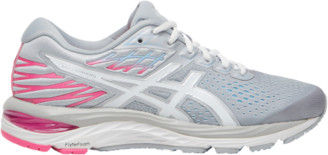Asics GEL-Cumulus 21 Running Shoes - Piedmont Grey / White