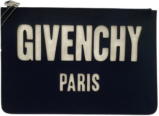 Givenchy Blue Leather Small bags, wallets & cases