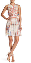Adelyn Rae Print Fit & Flare Dress