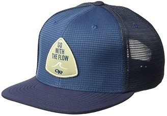 Outdoor Research Performance Trucker - Go with The Flow (Naval Blue) Caps